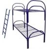 Металлические двухъярусные кровати для общежитий,  от производителя опт